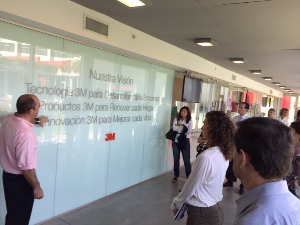 Visita del CIEL al Centro de Innovación de 3M